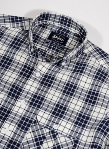 Lumber Check Flannel Button Down Shirt