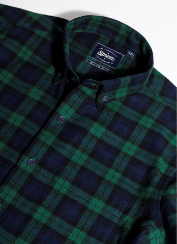 Hipster Flannel Button Down Shirt