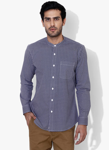 Marrakech Grandad collar Slim Fit Shirt