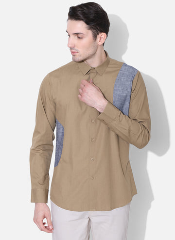 Giro Color Block Full Sleeves Shirt