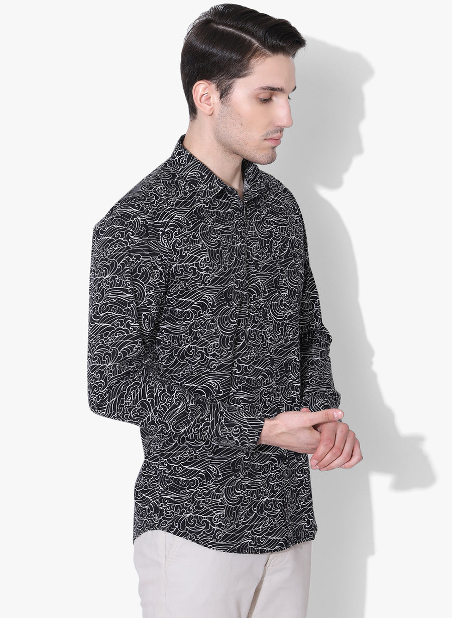 Kaiga Print Full Sleeves Shirt