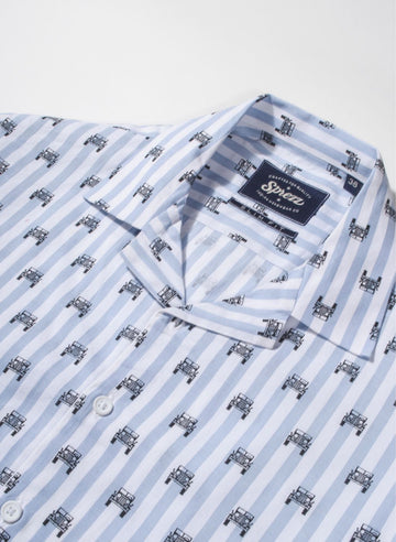 Jeep Print Resort Collar Shirt