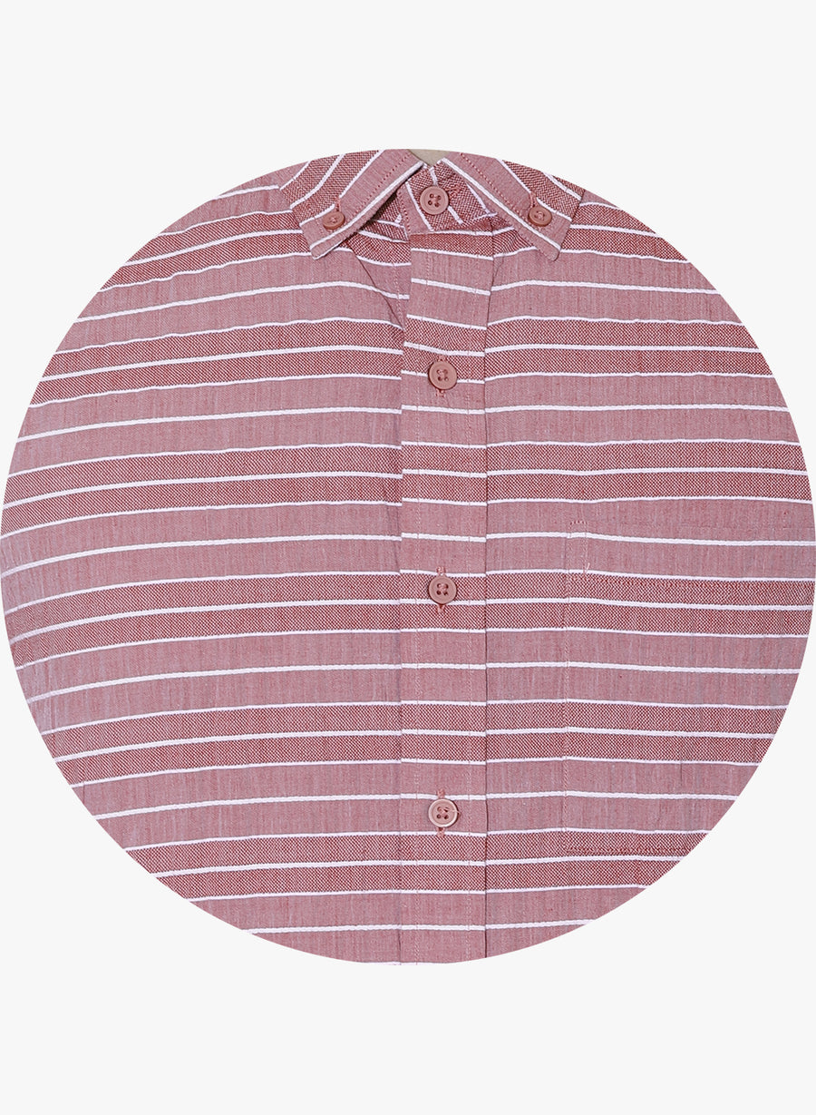 Suto Striper Button Down Shirt