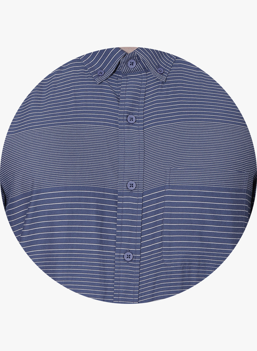 Heng Striper Button Down Shirt