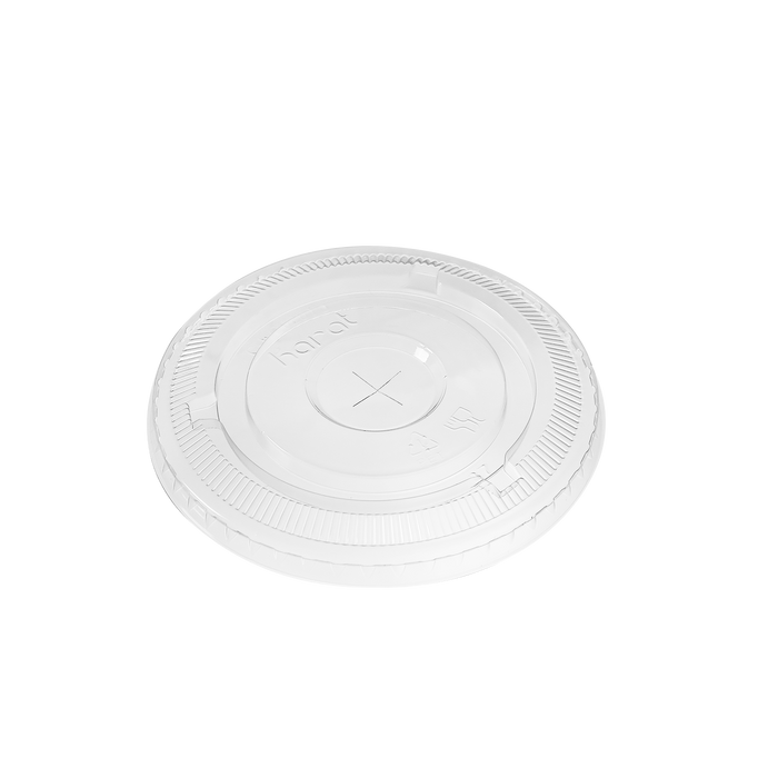 98MM PET FLAT LIDS - 1,000 CT