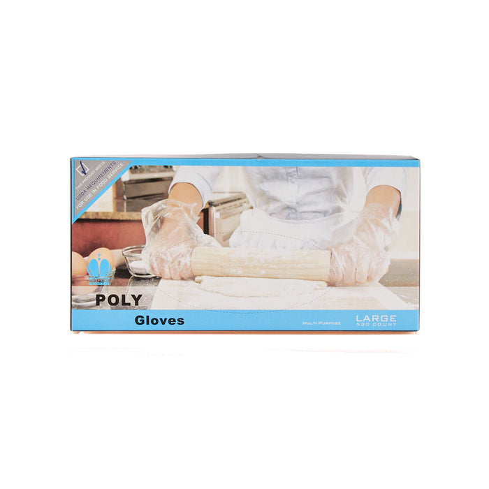 Poly Glove 1508-1 Large 500ps/10box