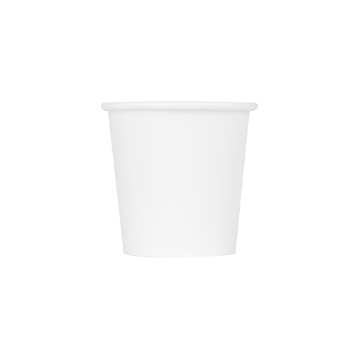 4OZ PAPER HOT CUPS - WHITE (62MM) - 1,000 CT