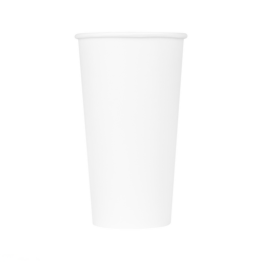 20OZ PAPER HOT CUPS - WHITE - 1,000 CT