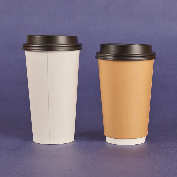 SIPPER DOME LIDS FOR 10OZ ~ 24OZ HOT CUPS BLACK (1,000/CS)