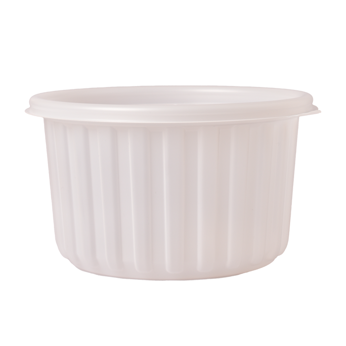 [BASE] LARGE Microwavable P.P. To-Go Bowl 158∅ x 92mm (H) (300 Pcs)