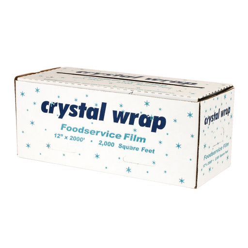 "Crystal Wrap 12""x 2000ft Food Grade"