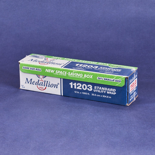 "Medallion Roll Aluminum Foil 12""1000ft"