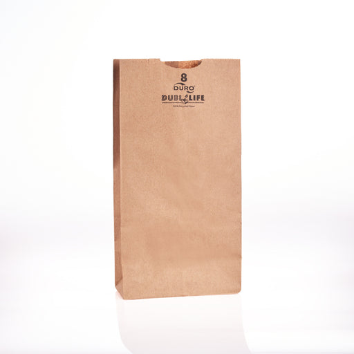 Brown Paper Bag  6 1/8x4 1/8x12 7/16  (500bl/cs) 18408
