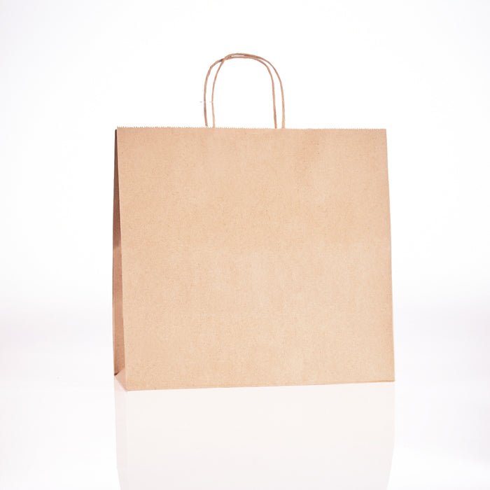 Brown Handle Paper Bag 13x7x13 (250/cs) 87523