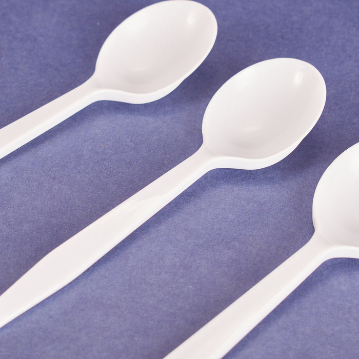 Suop Spoon, Heavy Weight/White (1000/cs)_PP