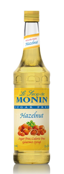 Monin SugarFree Hazelunt Syrup