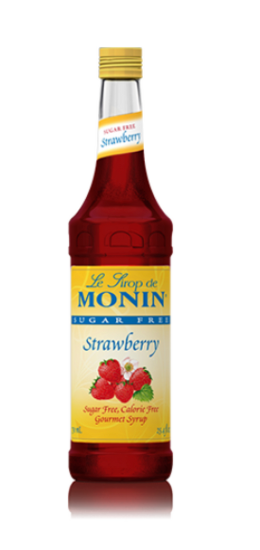 Monin SugarFree Strawberry Syr