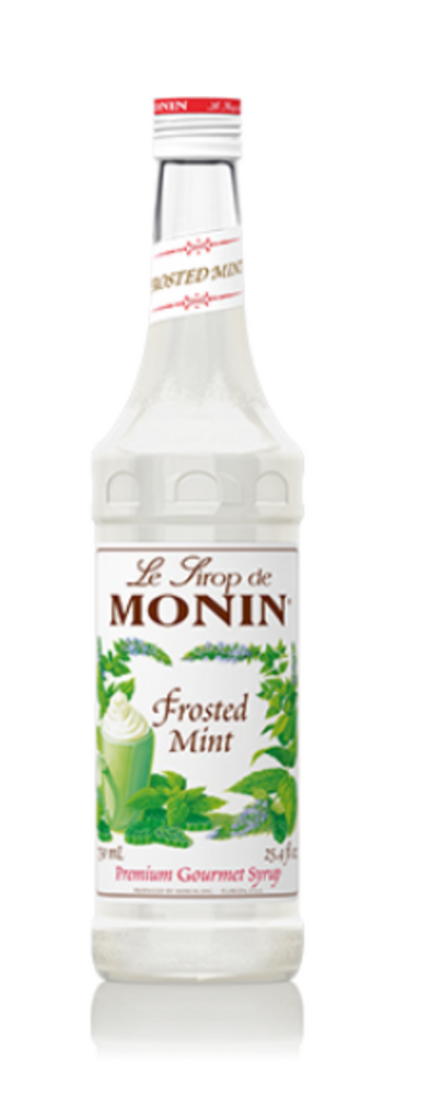 Monin Mint Frosted Syrup