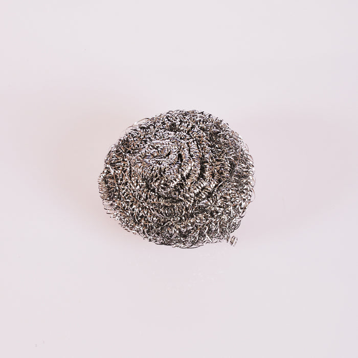 Stainless Steel  Scrubber 50g Gray 6/12