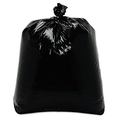 Trash Liner LD Black 24 x 33 x 1 mil (500/cs)