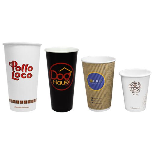 Custom Paper Hot and Cold Cups