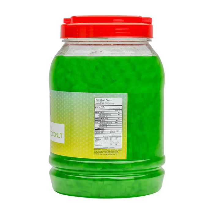 Green Apple Coconut Jelly