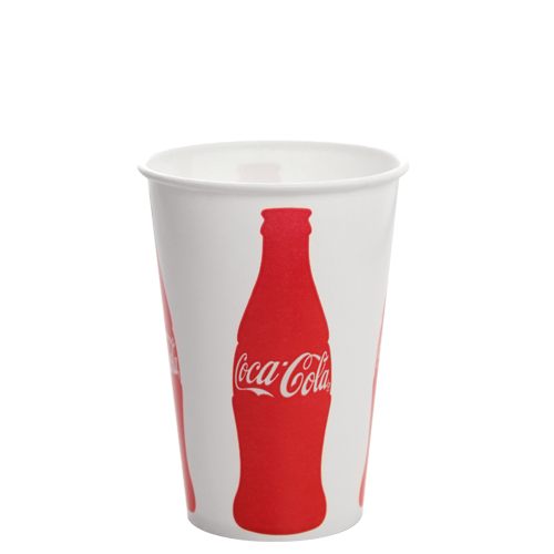 16oz Paper Cold Cups - Coca Cola (90MM) - 1,000 CT, C-KCP16 (Coke)