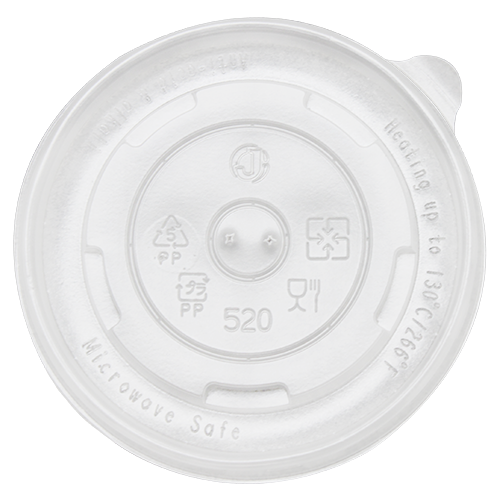PP Flat Lid 16oz Food Containe