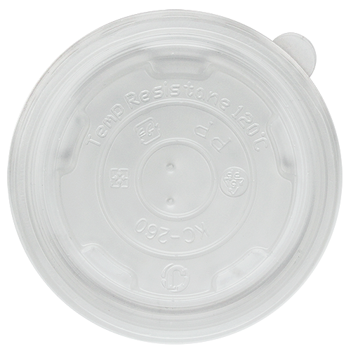 PP Flat Lid 8oz Food Container
