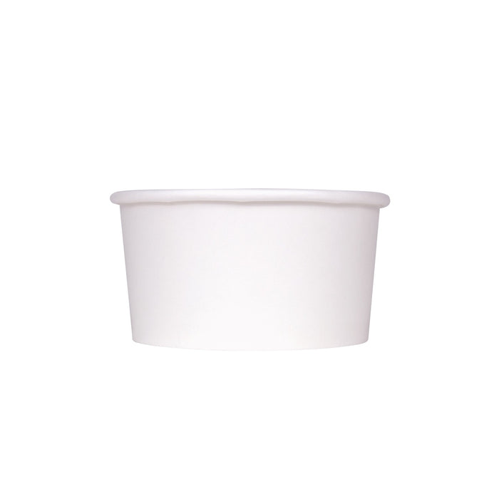 6oz Food Container White