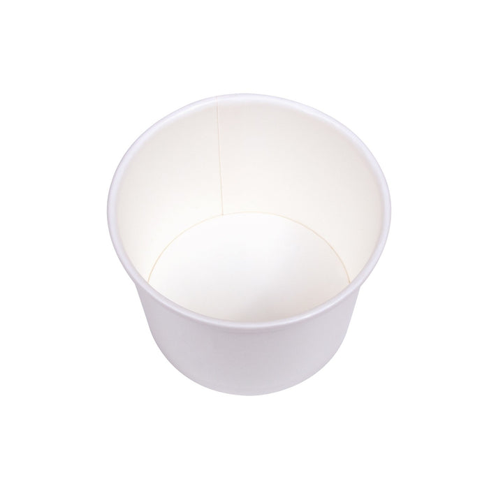 8oz Food Container White