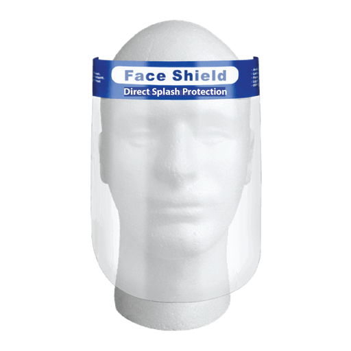 Clear Plastic Face Shield (Reusable)