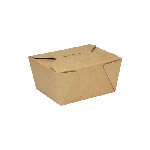 #1 Kraft Fold-To-Go Box 30oz 450ct