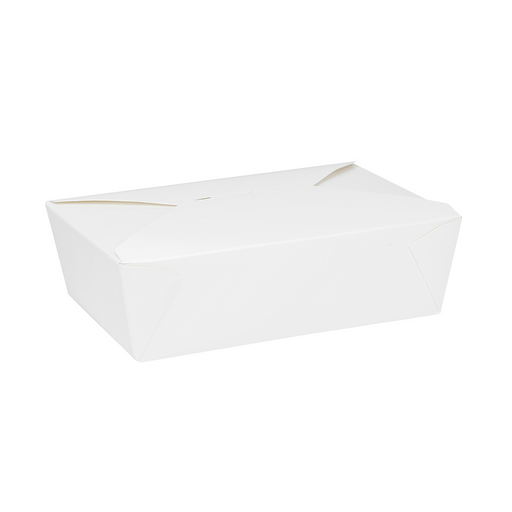 #3 White Fold-To-Go Box 76oz 200ct