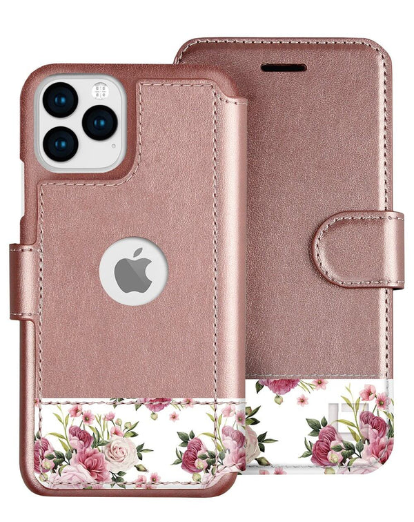 iPhone 12 Pro Wallet Case Lupa Legacy Floral Charm
