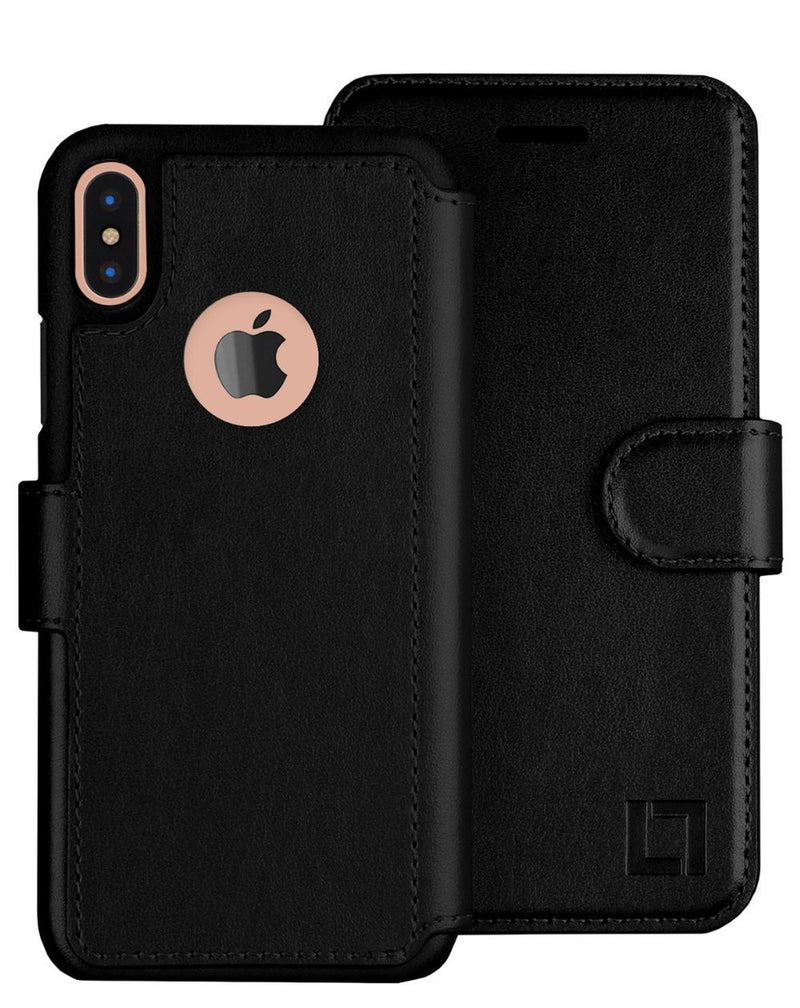 iPhone X/Xs Wallet Case LUPA Legacy Black
