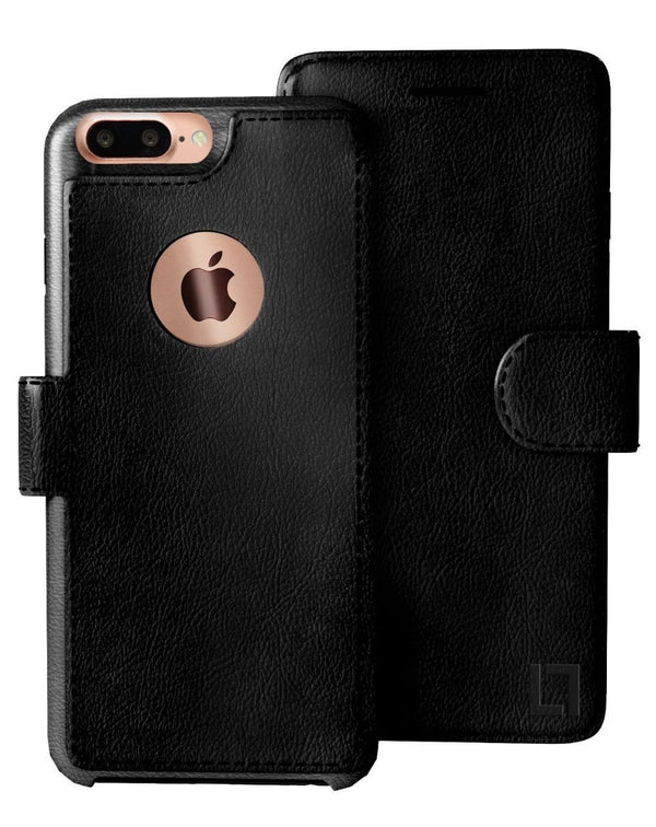 iPhone 8 Plus Wallet Case LUPA Legacy Black