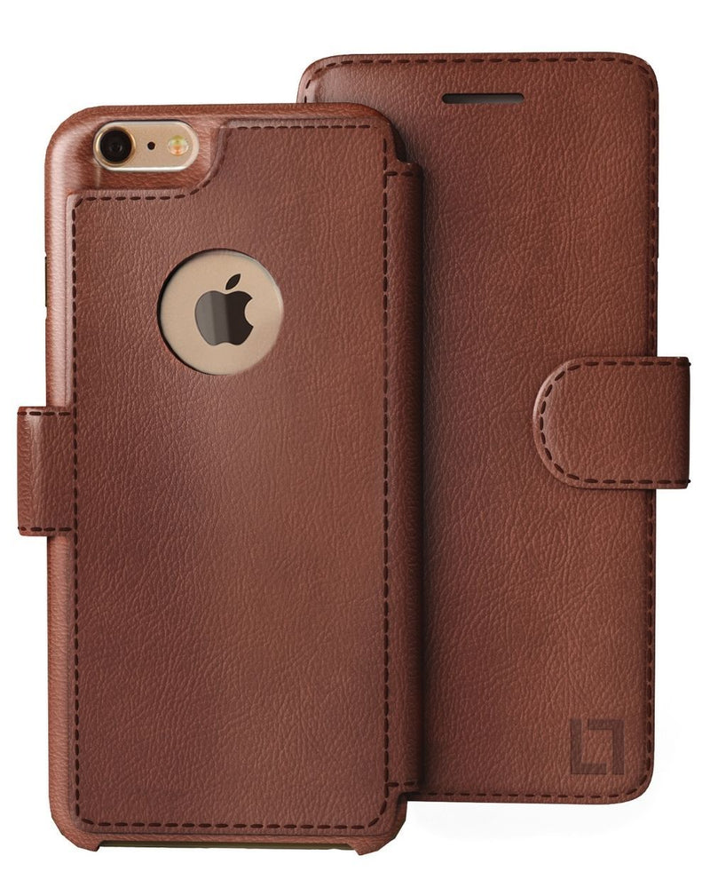 iPhone 6/6s Wallet Case LUPA Legacy Light Brown
