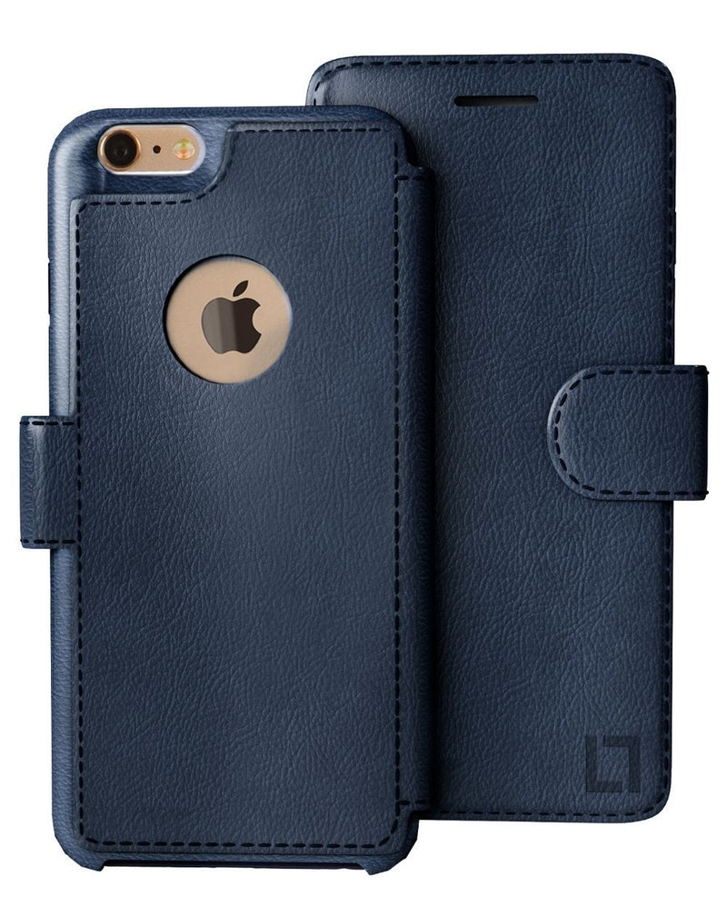 iPhone 6/6s Wallet Case LUPA Legacy Navy Blue