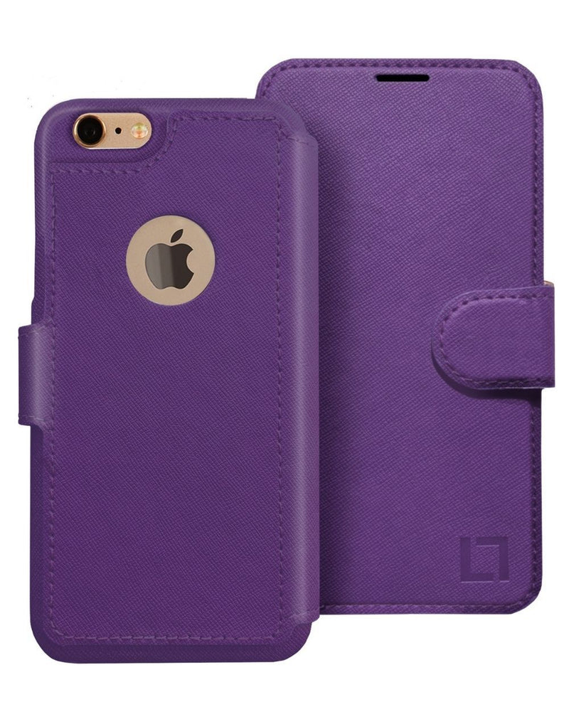 iPhone 6/6s Wallet Case LUPA Legacy Purple