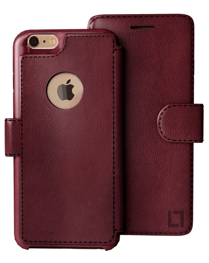 iPhone 6/6s Wallet Case LUPA Legacy Burgundy