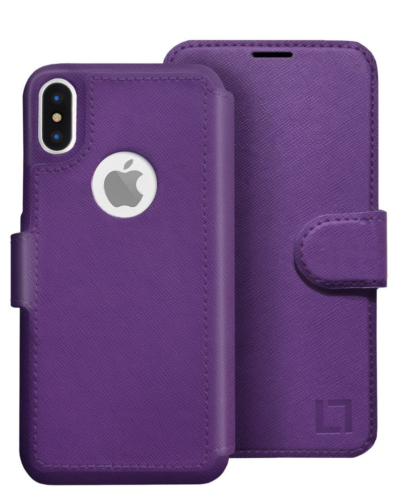 iPhone X/Xs Wallet Case LUPA Legacy Purple