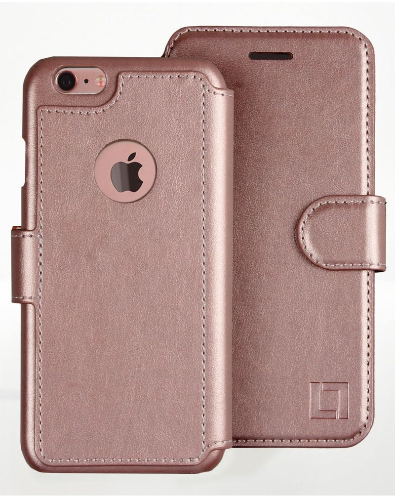iPhone 6/6s Wallet Case LUPA Legacy Rose gold