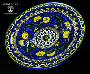 ARTIST SERIES-Hand-painted Display Bowl, Extra Large
