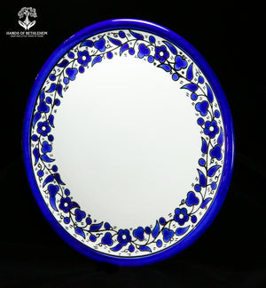 Hand-painted Ceramic Dinner Plate