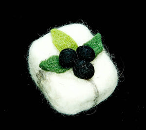 Olive Oil Soap covered with wool