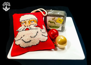 Olive Oil Soap Christmas Gift with Ornament