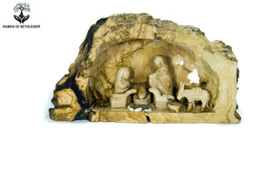 Nativity in Natural Cave
