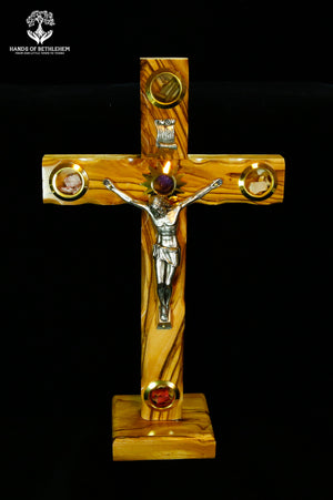 Cross-Crucifix with Stand