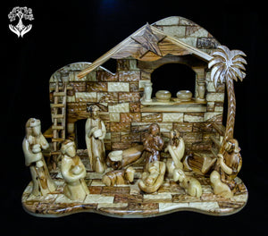 Nativity Stable-Contemporary